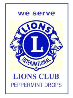 Lion Mint Drops - Peppermint (Box)